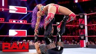 Sasha Banks vs. Natalya: Raw, March 25, 2019