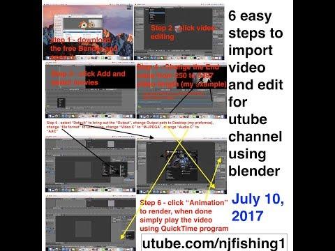 Blender for making youtube video Tutorial