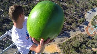 CATCHING FRUIT from 45m TOWER!