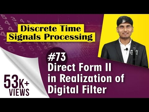 What is Direct Form II in Realization of Digital Filter