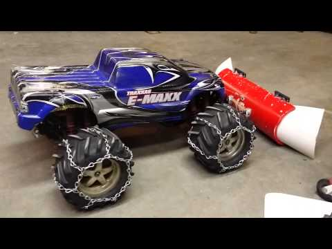 Rc Snow Plow Upgraded Mounting Hardware Traxxas