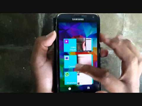 Samsung Galaxy S5 : How to Close Windows (Android Phone)