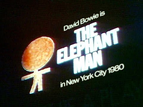 David Bowie – David Bowie is The Elephant Man – Ad / Trailer - 1980