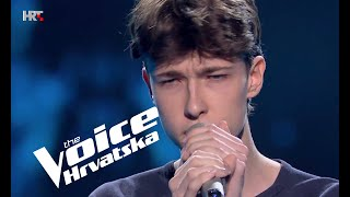 "Jakob Grubišak: ""River"" - The Voice of Croatia - Season 3 - Blind Auditions 1"