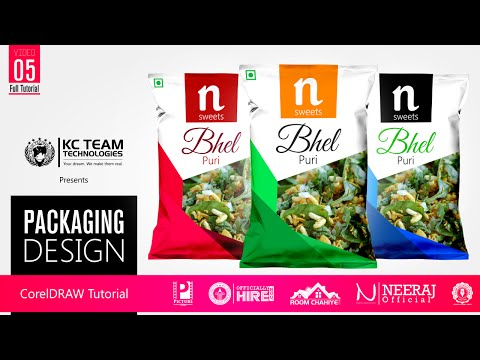 Packaging design | Product Box Design | CorelDRAW Full Tutorial