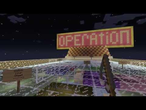 Minecraft custom map board game