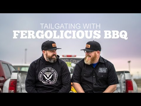 Tailgating with Fergolicious BBQ