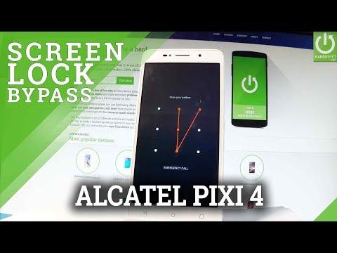 ALCATEL Pixi 4 Hard Reset / Bypass Pattern Lock / Wipe Data