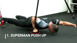 Power Conditioning For Combat Sports - Flying Suspension Training