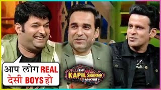 Kapil Sharma FUNNY INTERVIEW With Manoj Bajpayee Pankaj Tripathi | The Kapil Sharma Show