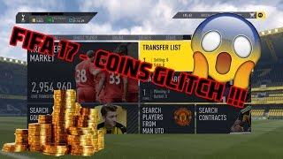 FIFA 17 FUT - FREE COINS GLITCH !