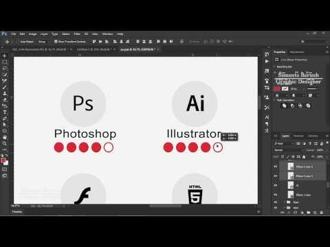 Cv Design In Adobe Photoshop