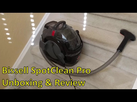 Bissell 3624 SpotClean Pro - Unboxing  & Review
