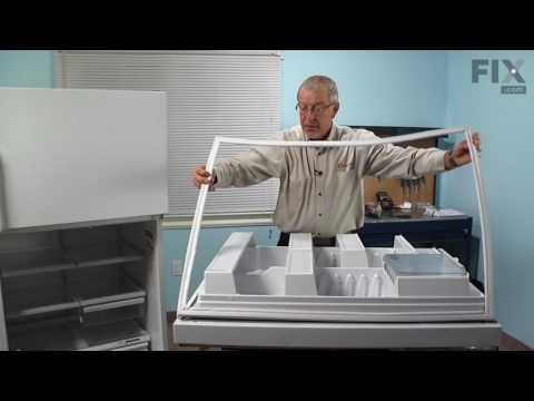 GE Refrigerator Repair – How to replace the Fresh Food Door Gasket