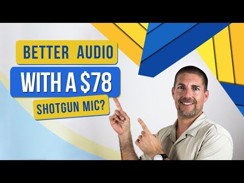 Better Audio For Video With A $78 Shotgun Mic?