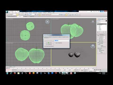 3D Studio Max 2011 -  Polygon Modeling Wooden Barrel - Still Life Part 5.