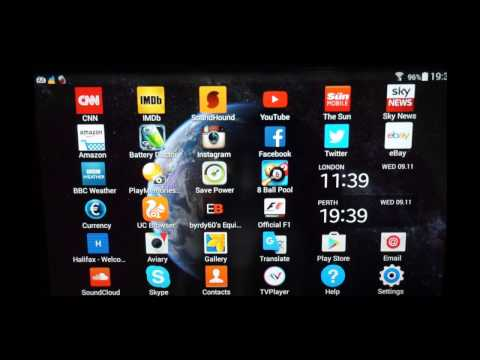 Samsung Galaxy Tab 4 - Transferring Games an Apps to SD card