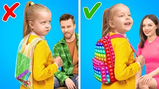 BACK to SCHOOL! Awesome School Crafts and Hacks For Parents