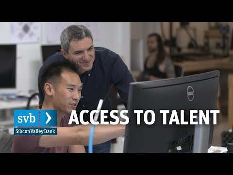 SVB Startup Outlook 2018: Access to Talent