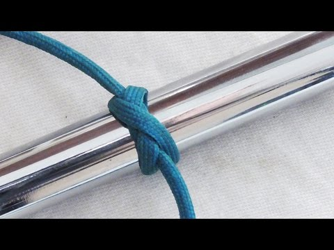 Super Useful Knot - How To Tie A Constrictor Knot