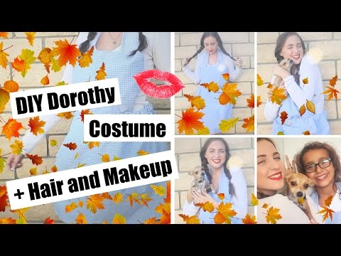 DIY Dorothy Costume + Hair and Makeup! + Giveaway