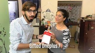 Gifted OnePlus 7 to my Bhabhi...🔥