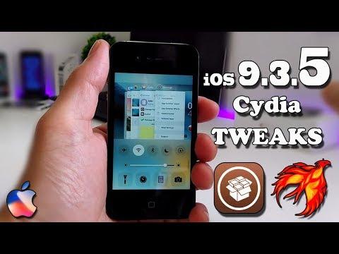 iOS 9.3.5 Cydia Tweaks / 2017