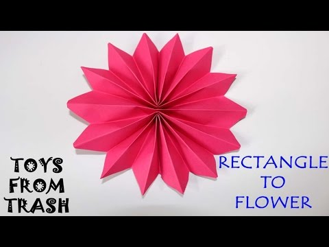 Rectangle to Flower | Malayalam