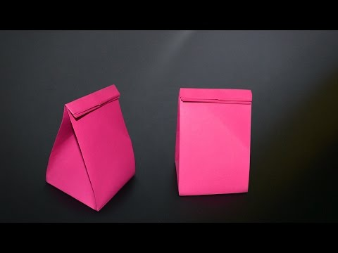 Origami: Gift Bag - Instructions in English (BR)