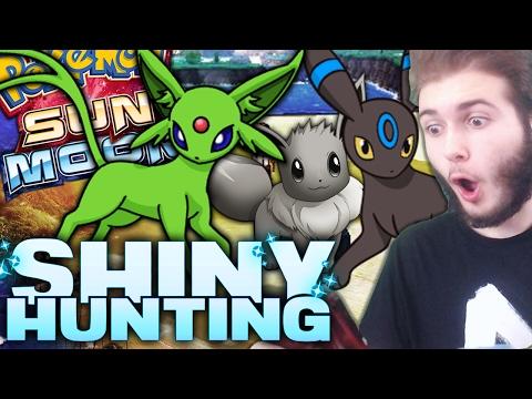 SHINY EEVEE in LESS than 30 SOS! | Pokemon Sun and Moon Shiny Reaction! w/ Jason Plays Pokemon