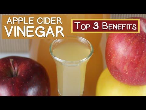 Top 3 Benefits of Apple Cider Vinegar