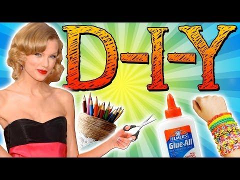 Taylor Swift Inspired DIY - Rainbow Loom, Fashion, and DIY Bedroom Ideas!