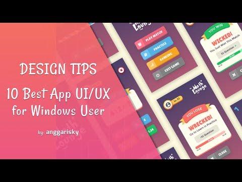 10 Best App UI/UX Design For Windows