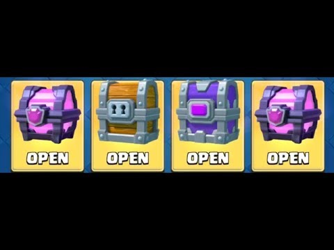 MASSIVE CHEST OPENING • Clash Royale
