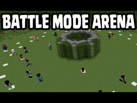 Minecraft PS3, Xbox360, Wii U - BATTLE MODE & ARENA SERVER MAP GAMEPLAY LEAK EXPLAINED!