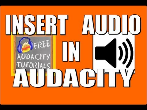 Insert audio in the middle of an Audacity track - and use the