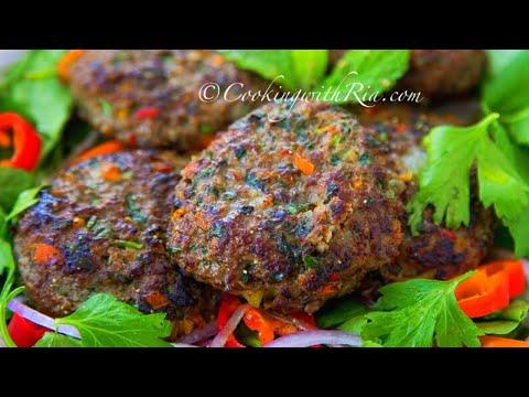 PERFECT Burger Recipe    (chicken, turkey, beef or bison meat)