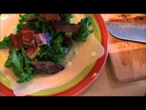 Keto Grassfed Liver & Bacon Paleo Wrap
