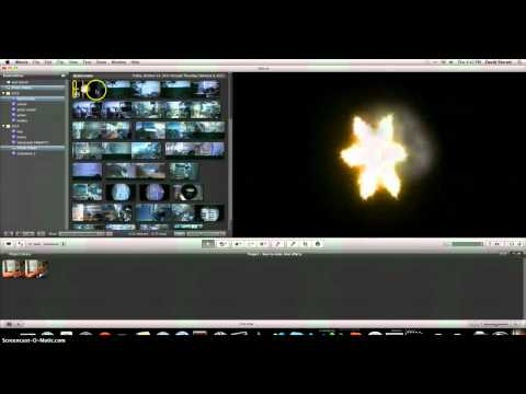 how to make gun effect with imovie
