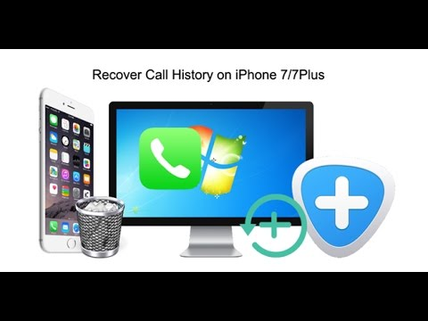 How to Recover Call History on iPhone 7/7Plus