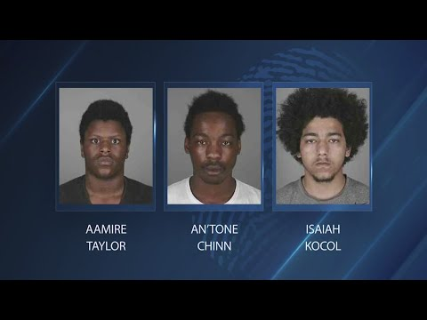 Three teens arrested for stealing sneakers