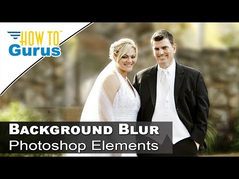 How to Add a Soft Focus Background in Adobe Photoshop Elements 2018 15 14 13 12 11 Tutorial