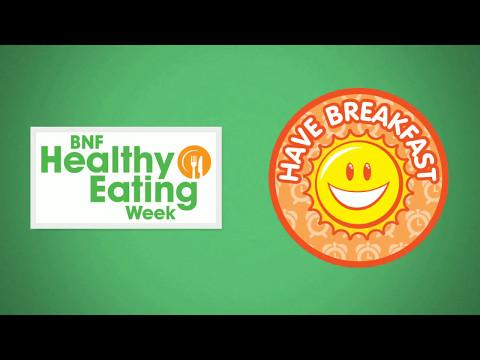 BNF Healthy Eating Week: Have breakfast