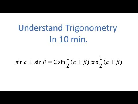Understand Trigonometry in 10 min