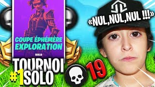 Top 1 19 Kill En Tournoi Solo Sur Fortnite Battle Royale !