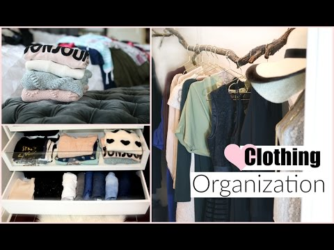 Drawer & Closet Organization-  Organizing Tips - MissLizHeart