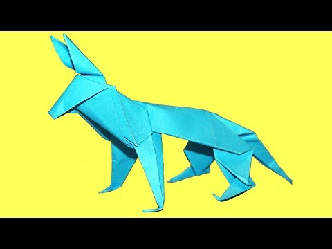How to make An Origami Wolf || Easy papr Wolf Paper Factor 💌