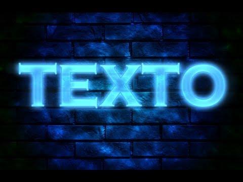 Efeito neon - photoshop cs6