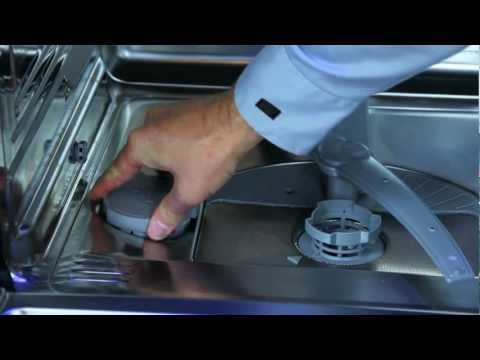 Loading Salt into Thermador Dishwasher