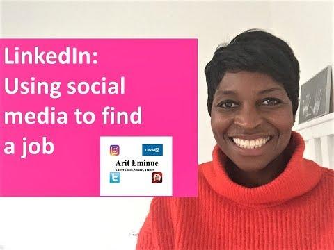 LinkedIn: Using social media to find a job